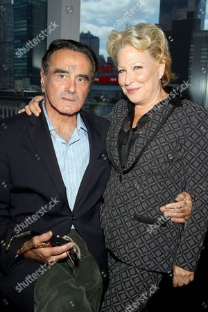 Dan Hedaya and Bette Midler