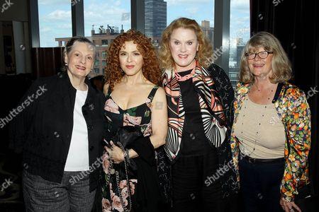 Dana Ivey, Bernadette Peters, Celia Weston and Judith Ivey
