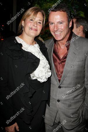 Lorraine Bracco and Colin Cowie
