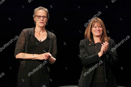 Maddy deLone and Betty Anne Waters