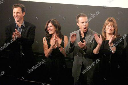 Tony Goldwyn (Director), Pamela Gray (Screenwriter), Sam Rockwell and Betty Anne Waters