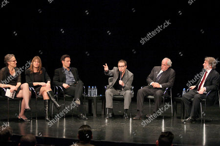 Maddy deLone, Betty Anne Waters, Tony Goldwyn, Sam Rockwell, Andy Karsch and Barry Scheck