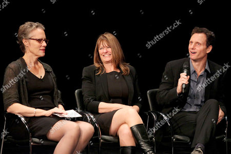 Maddy deLone, Betty Anne Waters and Tony Goldwyn