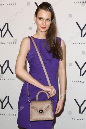 Editorial photo of Yliana Yepez fall 2013 handbag launch, New York, America - 31 Jan 2013