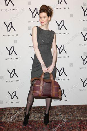 Editorial image of Yliana Yepez fall 2013 handbag launch, New York, America - 31 Jan 2013