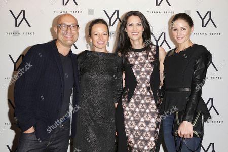 Angel Sanchez, Michelle Smith, Yliana Yepez and Olivia Palermo