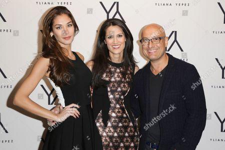 Dayana Mendoza, Yliana Yepez, Angel Sanchez