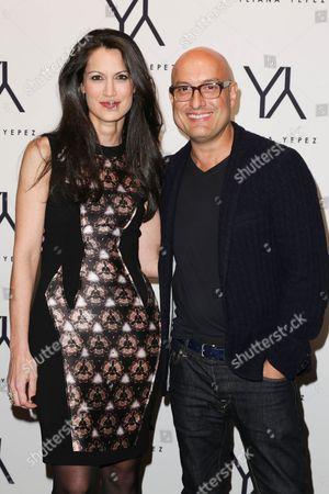 Yliana Yepez and Angel Sanchez
