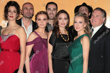 Editorial picture of 'In The Land Of Blood And Honey' film premiere, New York, America - 05 Dec 2011