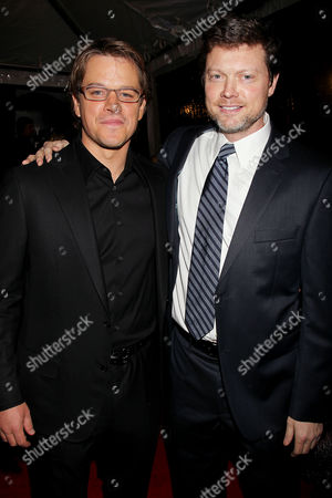 Matt Damon and George Nolfi (Director)