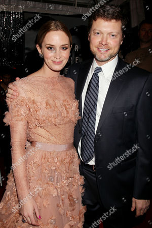 Emily Blunt and George Nolfi (Director)