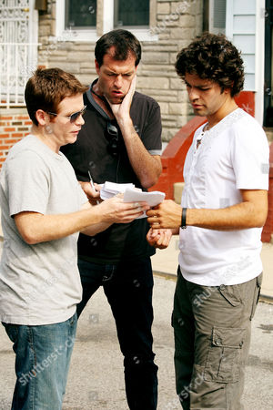 Kevin Connolly, Mark Mylod(Director) and Adrian Grenier