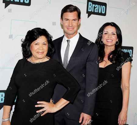 Stock Photo of Zoila Chavez, Jeff Lewis and Jenni Pulos
