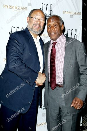 Richard Parsons and Danny Glover