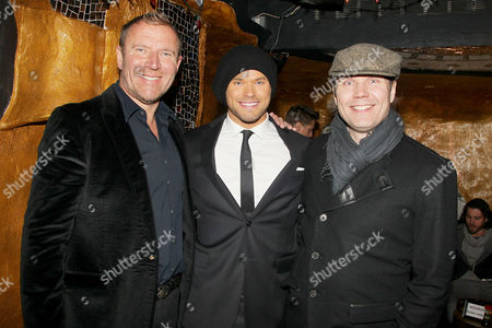 Stock Picture of Renny Harlin (Director), Kellan Lutz and Tuomas Kantelinen (Comp