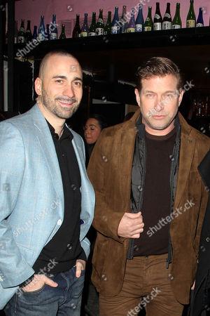 Stock Image of Jay Giannone and Stephen Baldwin
