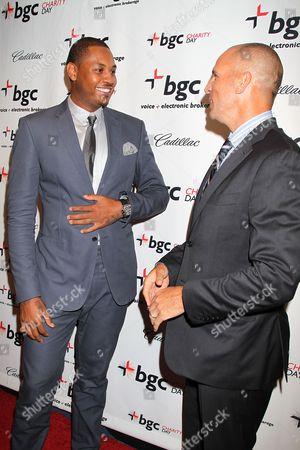 Carmelo Anthony and Jason Kidd
