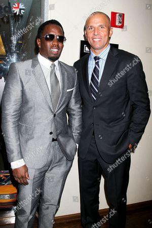 Sean Combs and Jason Kidd