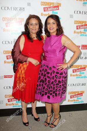 Stock Photo of Leticia Marquez-Magana and Michelle Herrera Mulligan