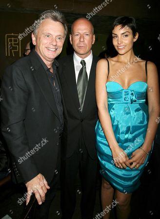 James Foley, Bruce Willis and Paula Miranda