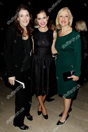 Jennifer Byrne (PBS), Allison Williams, Paula Kerger (Pres. CEO PBS)
