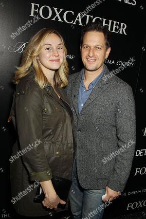 Josh Charles and Sophie Flack