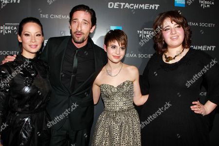 Lucy Liu, Adrien Brody, Sami Gayle and Betty Kaye