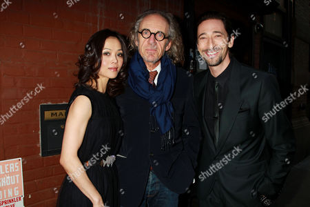 Yan-Lin Kaye, Tony Kaye and Adrien Brody