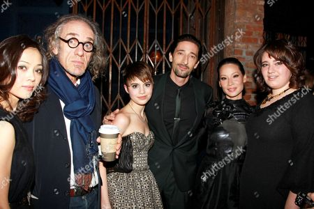 Yan-Lin Kaye, Tony Kaye, Sami Gayle, Adrien Brody, Lucy Liu and Betty Kaye
