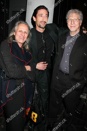 Sylvia Plachy, Adrien Brody and Elliot Brody