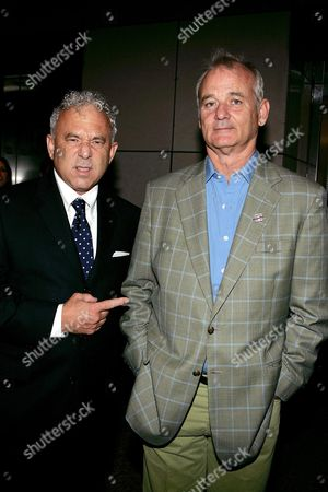 Stock Image of Tom Schiller and Bill Murray
