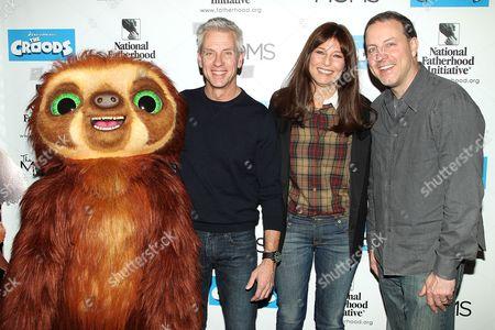 Chris Sanders, Catherine Keener and Kirk Demicco