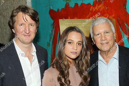 Tom Hooper (Director), Alicia Vikander, Larry Gagosian