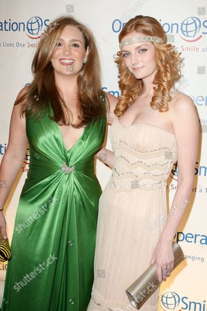 Gillian Hearst Simonds and Lydia Hearst-Shaw