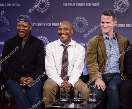 Editorial photo of The 2nd Annual PaleyFest Presents: 'The Wire' Reunion, New York,  America - 16 Oct 2014
