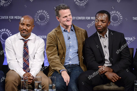 Stock Picture of Seth Gilliam, Jim True-Frost and Jamie Hector