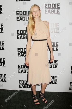 Editorial picture of 'Eddie the Eagle' film screening, New York, America - 02 Feb 2016