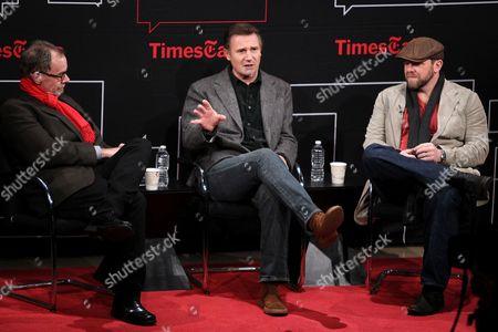 David Carr, Liam Neeson and Joe Carnahan