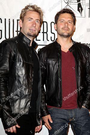 Chad Kroeger and Ryan Peake