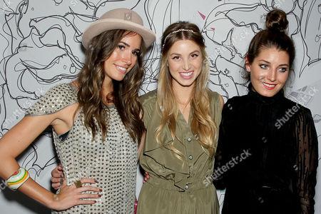 Louise Roe, Whitney Port, Samantha Swetra