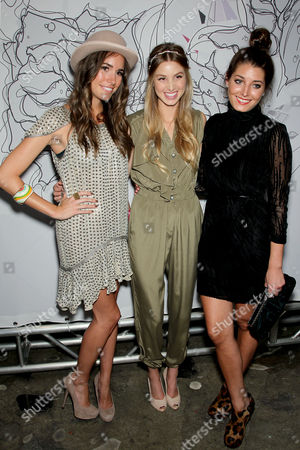 Stock Picture of Louise Roe, Whitney Port, Samantha Swetra