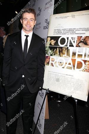 Editorial image of 'On the Road' film screening, New York, America - 13 Dec 2012