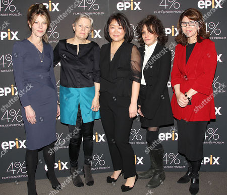 Robbie Myers, Mary Harron, Caroline Suh (Director), Amy Heckerling and Dr. Stacy Smith