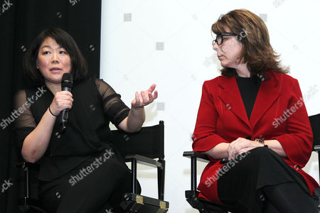 Caroline Suh (Director) and Dr. Stacy Smith