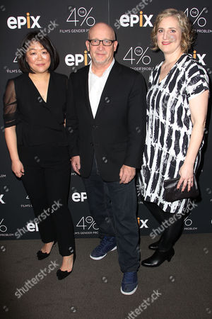 Caroline Suh (Director), Alex Gibney and Stacey Offman
