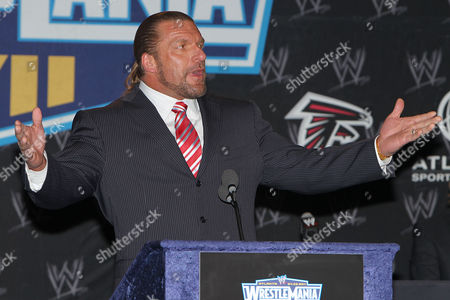 Stock Image of Triple H - Paul Levesque