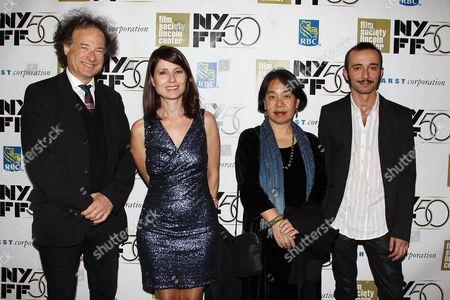 Marc Marder, Yesim Ustaoglu, Hisami Kuroiwa and Zeki Peynirci