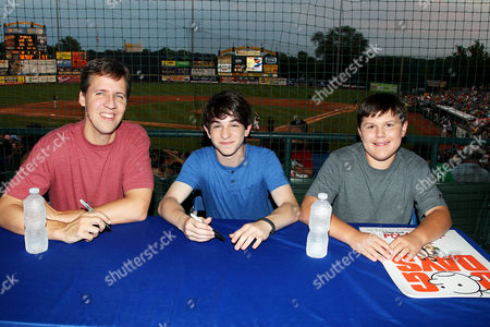 Jeff Kinney, Zachary Gordon and Robert Capron