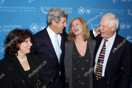 Editorial picture of Alliance to Strengthen Support for the UN Announcement, New York, America - 18 Nov 2010