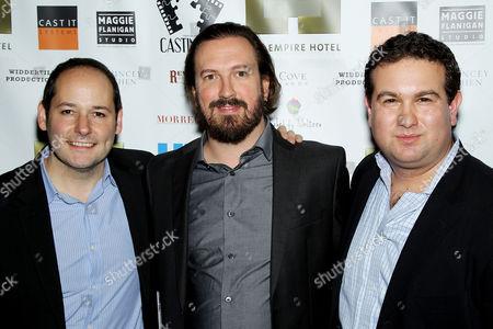 Tom Donahue, Peter Bolt and Ilan Arboleda